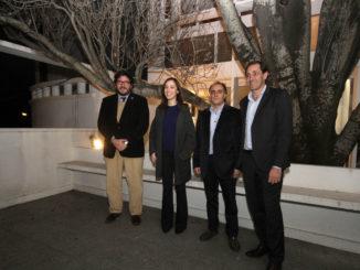 Garro, Vidal, Avelluto y Gómez en Casa Curutchet