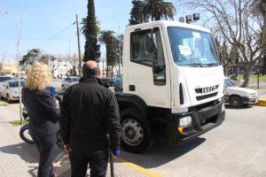 26 08 2016 Nuevo camión con Mario Secco (1)