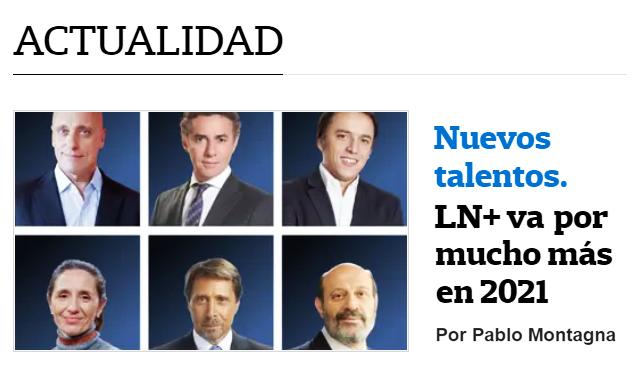 """La Nación marcó como """"Nuevos Talentos"""" a Leuco, Feinmann y Jonatan Viale, y  estallaron los memes en las redes - Revolución Popular"""